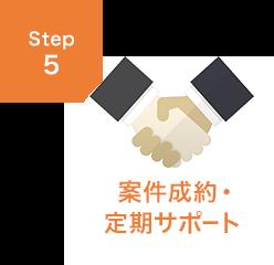 STEP5 案件制約・定期サポート