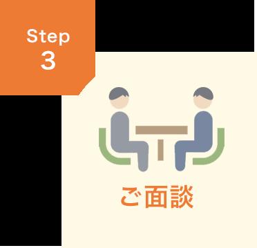 STEP3 ご面談