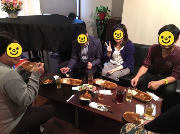 IT ランチ会 赤坂 おむすびJazz